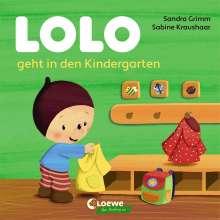 Sandra Grimm: Lolo geht in den Kindergarten, Buch