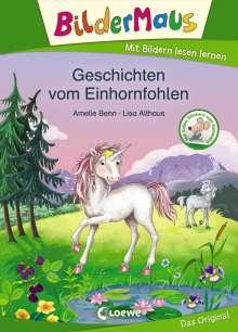 Amelie Benn: Bildermaus - Geschichten vom Einhornfohlen, Buch