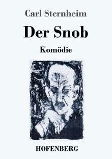 Carl Sternheim: Der Snob, Buch