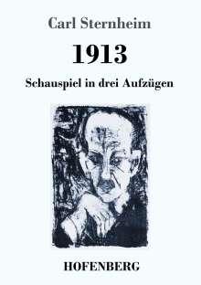 Carl Sternheim: 1913, Buch