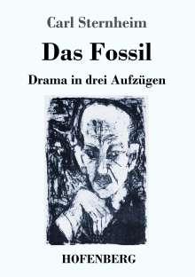 Carl Sternheim: Das Fossil, Buch