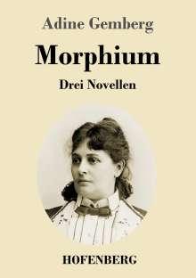 Adine Gemberg: Morphium, Buch