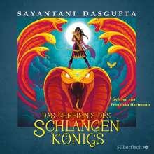 Sayantani Dasgupta: Das Geheimnis des Schlangenkönigs, 4 CDs