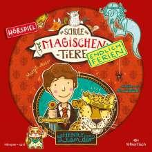 Margit Auer: Die Schule der magischen Tiere - Endlich Ferien 3 - Henry und Leander (Hörspiel), CD