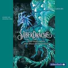 Jessica Khoury: Silberdrache 2: Das Geheimnis der Drachenkönigin, 4 CDs
