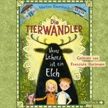 Martina Baumbach: Die Tierwandler 1: Unser Lehrer ist ein Elch, 2 CDs