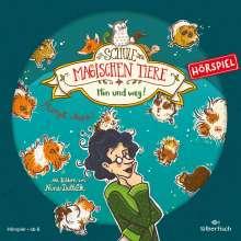 Margit Auer: Die Schule der magischen Tiere - Hörspiele 10: Hin und weg! Das Hörspiel, CD