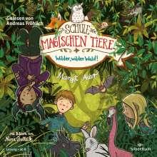 Margit Auer: Die Schule der magischen Tiere 11: Wilder, wilder Wald!, 2 CDs