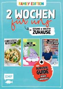 Daniel Kauth: 2 Wochen für uns - Gesund und kreativ zuhause (Family Edition), Buch