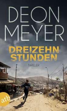 Deon Meyer: Dreizehn Stunden, Buch