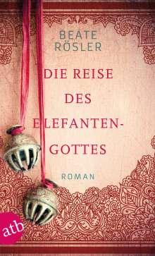 Beate Rösler: Die Reise des Elefantengottes, Buch