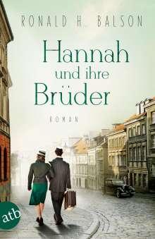 Ronald H. Balson: Hannah und ihre Brüder, Buch
