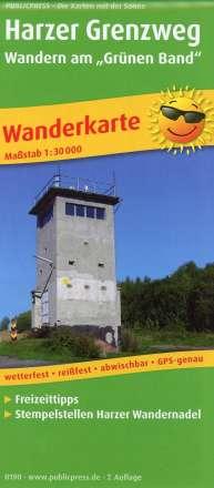 """Harzer Grenzweg - Wandern am """"Grünen Band"""" 1 : 30 000, Diverse"""
