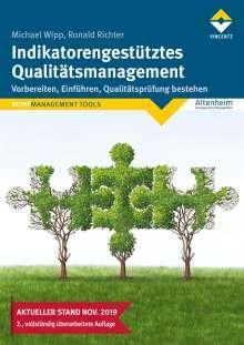 Michael Wipp: Indikatorengestütztes Qualitätsmanagement, Buch