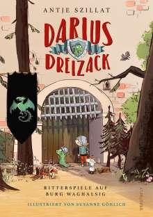 Antje Szillat: Darius Dreizack - Ritterspiele auf Burg Waghalsig, Buch
