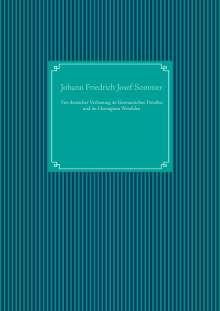 Johann Friedrich Josef Sommer: Von deutscher Verfassung im Germanischen Preußen und im Herzugtum Westfalen, Buch