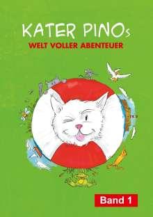 Karin Gähler: Kater Pinos Welt voller Abenteuer, Buch