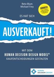 Reto Blum: Es hat sich AUSVERKAUFT!, Buch