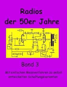 Eike Grund: Radios der 50er Jahre Band 3, Buch