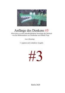 Lars Hennings: Anfänge des Denkens #3, Buch