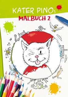 Karin Gähler: Kater Pinos Malbuch 2, Buch