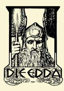 Sämund der Weise: Die Edda. Illustrierte Ausgabe., Buch