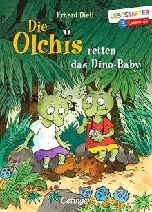 Erhard Dietl: Die Olchis retten das Dino-Baby, Buch