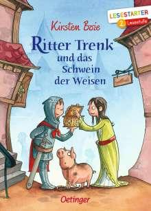 Kirsten Boie: Ritter Trenk und das Schwein der Weisen, Buch