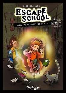 Anne Scheller: Escape School, Buch