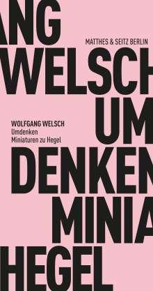 Wolfgang Welsch: Umdenken, Buch