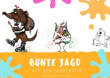 Nancy Bertrams: Bunte Jagd auf den Farbendieb, Buch