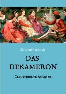 Giovanni Boccaccio: Das Dekameron - Illustrierte Ausgabe, Buch
