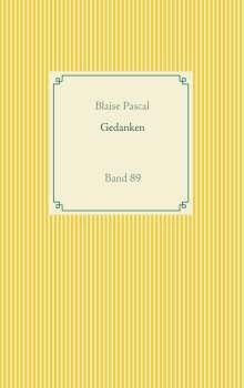 Blaise Pascal: Gedanken, Buch