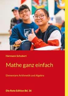 Hermann Schubert: Mathe ganz einfach, Buch