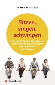 Sabine Wiediger: Sitzen, singen, schwingen, Buch