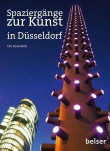 Ute Liesenfeld: Spaziergänge zur Kunst in Düsseldorf, Buch