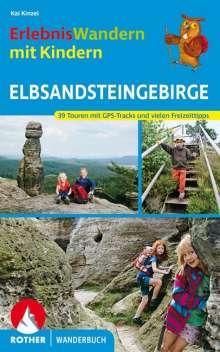 Kaj Kinzel: ErlebnisWandern mit Kindern Elbsandsteingebirge, Buch