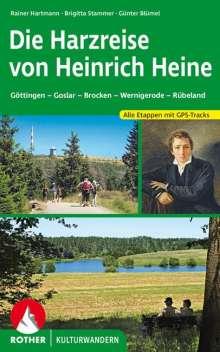 Rainer Hartmann: Die Harzreise von Heinrich Heine, Buch