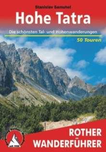 Stanislav Samuhel: Rother Wanderführer Hohe Tatra, Buch