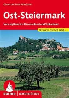 Günter Auferbauer: Rother Wanderführer Ost-Steiermark, Buch