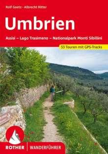 Rolf Goetz: Umbrien, Buch