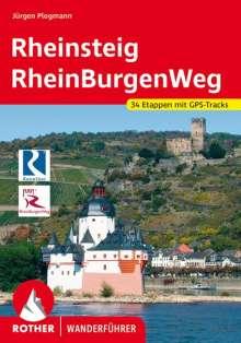 Jürgen Plogmann: Rheinsteig - RheinBurgenWeg, Buch