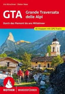 Iris Kürschner: GTA - Grande Traversata delle Alpi, Buch