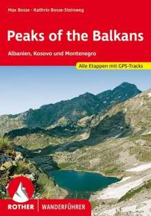 Max Bosse: Peaks of the Balkans, Buch