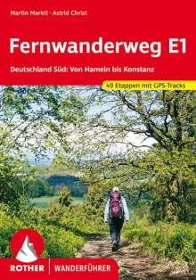 Martin Marktl: Fernwanderweg E1 Deutschland Süd, Buch