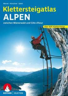 Thomas Huttenlocher: Klettersteigatlas Alpen, Buch