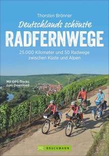 Thorsten Brönner: Deutschlands schönste Radfernwege, Buch