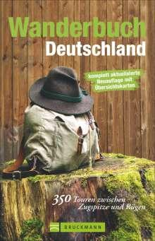Michael Pröttel: Wanderbuch Deutschland, Buch