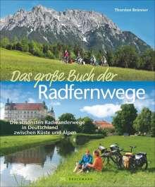 Thorsten Brönner: Das große Buch der Radfernwege, Buch