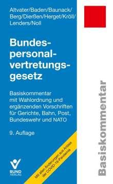 Lothar Altvater: Bundespersonalvertretungsgesetz, Buch